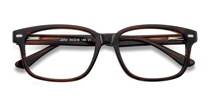 Brown John -  Fashion Acetate Eyeglasses