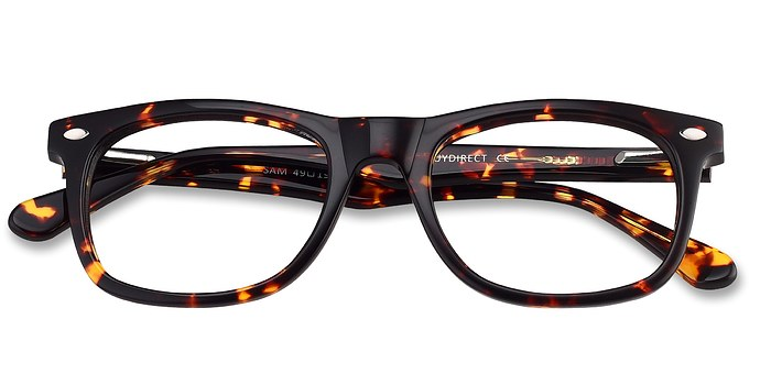 Tortoise Sam -  Geek Acetate Eyeglasses