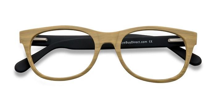 Wood Panama -  Fashion Wood Texture Eyeglasses