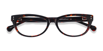 Brown/Tortoise Monica -  Classic Acetate Eyeglasses