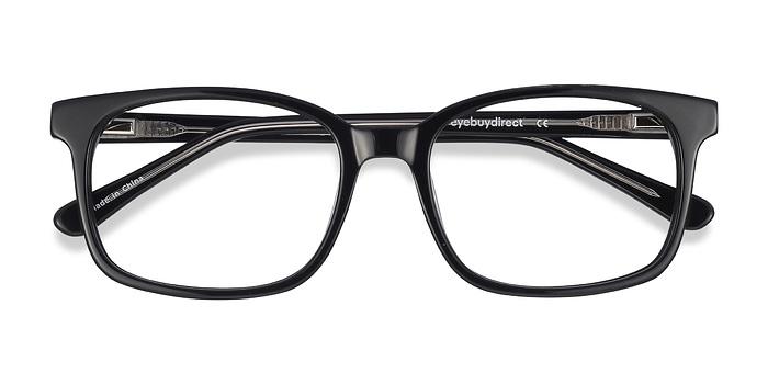 Black Claudia -  Classic Acetate Eyeglasses