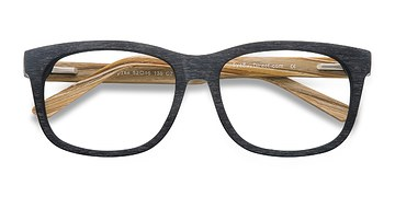 Black White pine -  Geek Acetate Eyeglasses