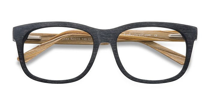 Black White Pine -  Fashion Acetate Eyeglasses