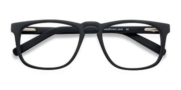 Black Rhode Island -  Fashion Acetate Eyeglasses