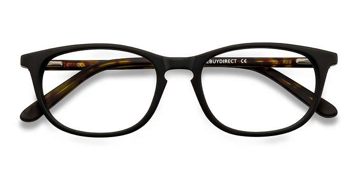Matte Black Valentin -  Fashion Acetate Eyeglasses