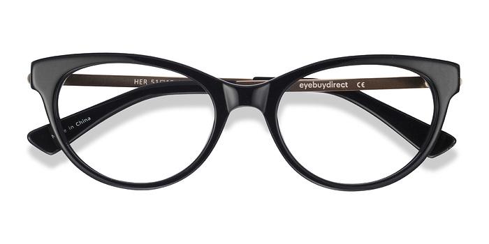Black Her -  Classic Acetate Eyeglasses
