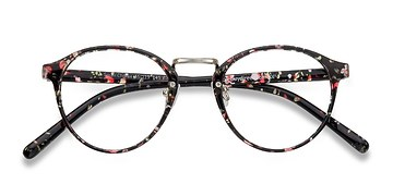 Red/Floral Small Chillax -  Fashion Plastic Eyeglasses