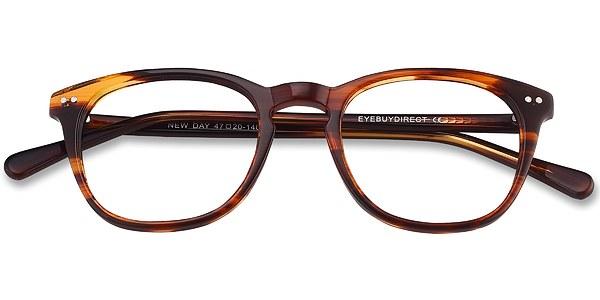 New Day prescription eyeglasses (Brown)