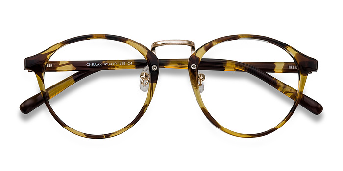 Tortoise Chillax -  Fashion Plastic Eyeglasses