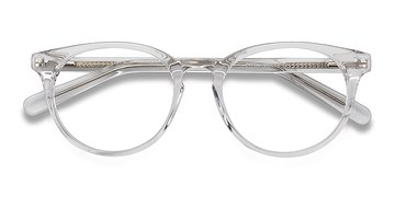 Clear/White Morning -  Fashion Acetate Eyeglasses