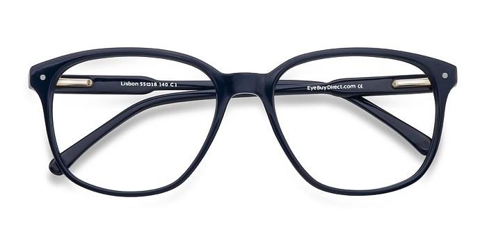 Navy Lisbon -  Designer Acetate Eyeglasses