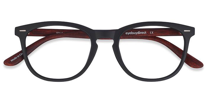 Black/Brown Yolo -  Fashion Plastic Eyeglasses