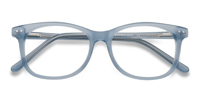 Clear/Blue Brittany -  Fashion Acetate Eyeglasses