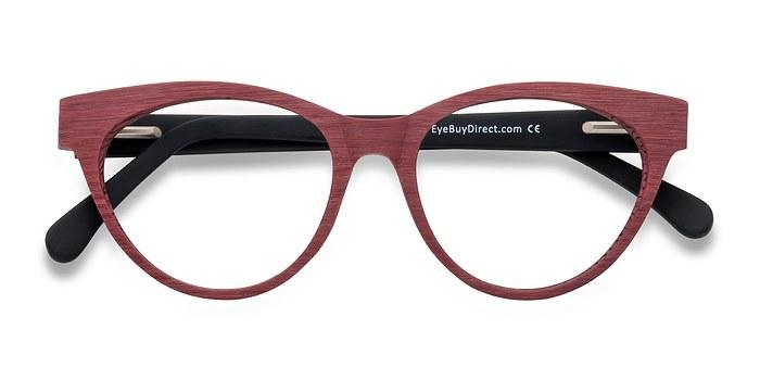 Matte Red Jane Birkin -  Fashion Acetate Eyeglasses