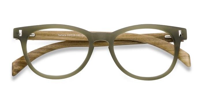 Matte Green Sahara -  Fashion Plastic Eyeglasses