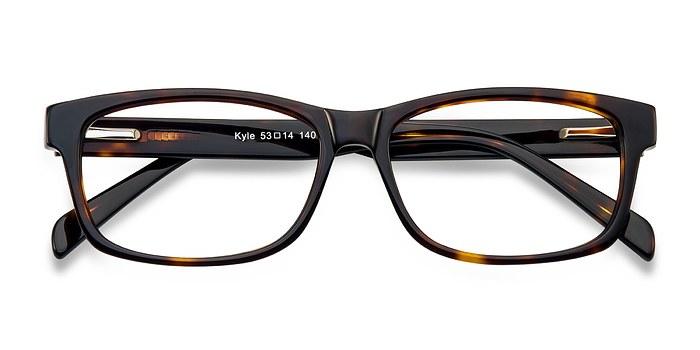 Brown/Tortoise Kyle -  Classic Acetate Eyeglasses