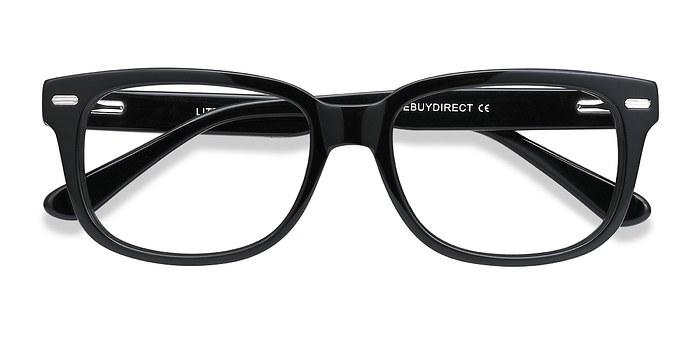 Black Little John -  Fashion Acetate Eyeglasses