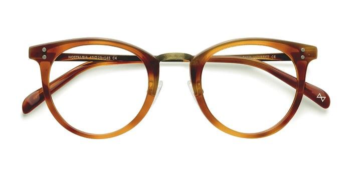 Cinnamon Nostalgia -  Designer Acetate Eyeglasses