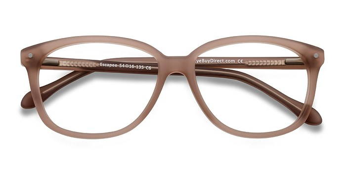 Matte Brown Escapee -  Fashion Acetate Eyeglasses