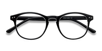 Clear/Black Instant Crush -  Fashion Plastic Eyeglasses