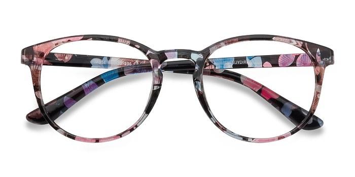 Pink Floral Muse -  Fashion Plastic Eyeglasses