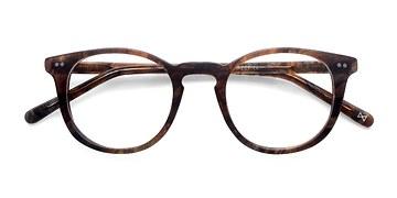 Marbled Havana Aurora -  Designer Acetate Eyeglasses