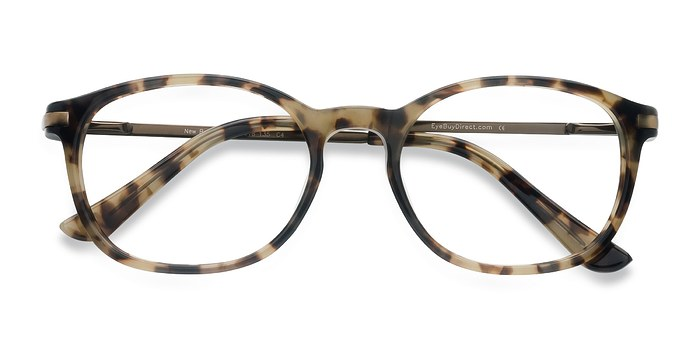 Bronze Tortoise New Bedford -  Acetate Eyeglasses