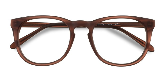Matte Brown Providence -  Classic Acetate Eyeglasses