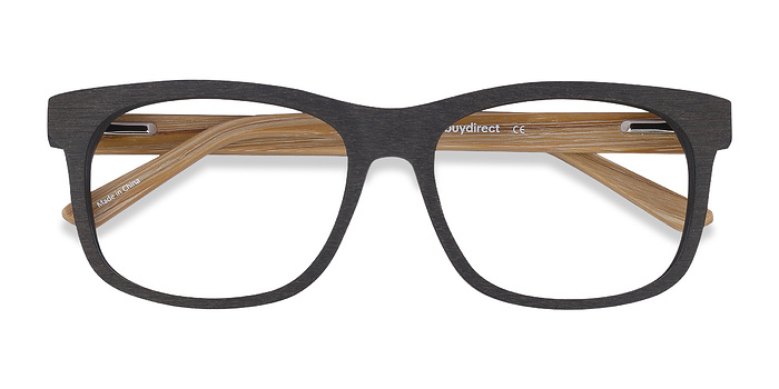 Black White Pine -  Acetate Eyeglasses