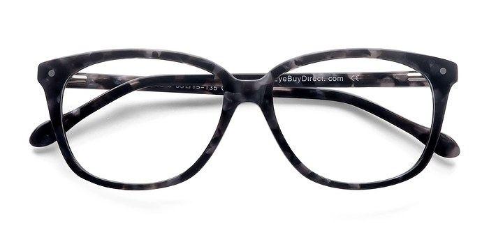 Gray Floral Escapee -  Fashion Acetate Eyeglasses