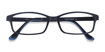 Navy Broad -  Plastic Eyeglasses