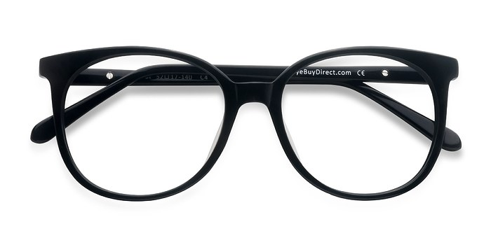 Black Bardot -  Acetate Eyeglasses