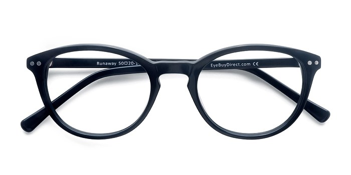 Navy Runaway -  Fashion Acetate Eyeglasses