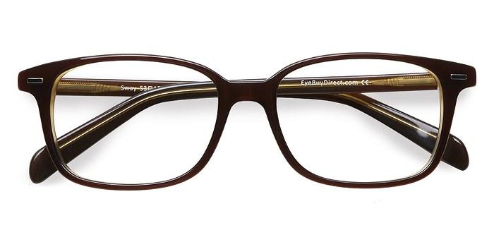 Brown Sway -  Acetate Eyeglasses