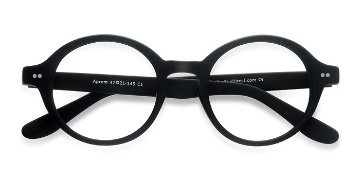 Matte Black Aprem -  Acetate Eyeglasses