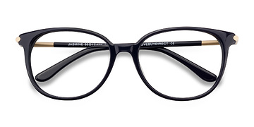 Navy Jasmine -  Vintage Acetate Eyeglasses
