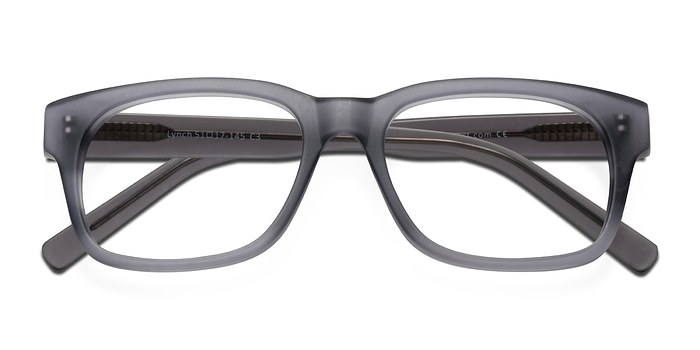 Matte Gray Lynch -  Fashion Acetate Eyeglasses