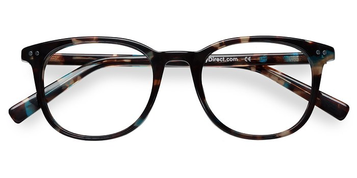 Blue Floral  Demain -  Acetate Eyeglasses