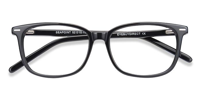 Black Seapoint -  Acetate Eyeglasses
