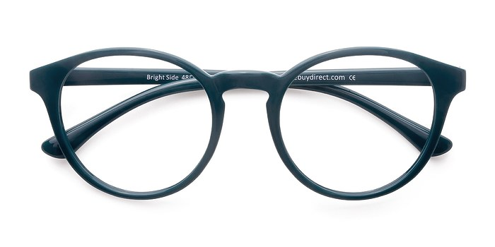 Bright Green Eyeglass Frames : Bright Side Green Plastic Eyeglasses EyeBuyDirect