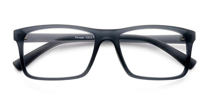 Matte Gray Persian -  Classic Plastic Eyeglasses