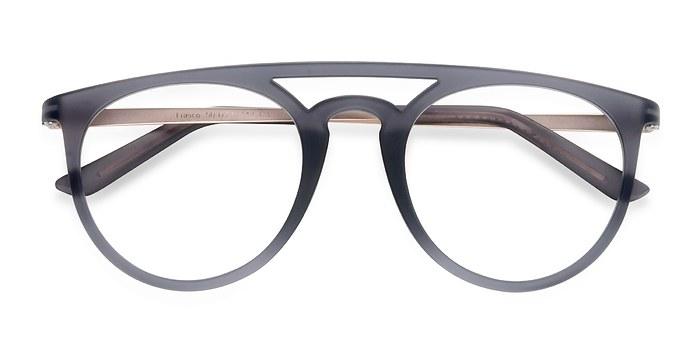 Matte Gray  Fiasco -  Plastic Eyeglasses