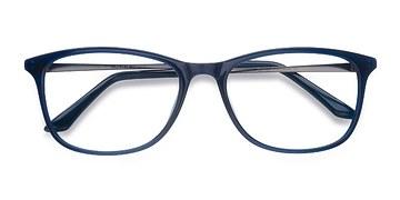 Bleu marine  Oliver -  Plastique Lunettes de Vue