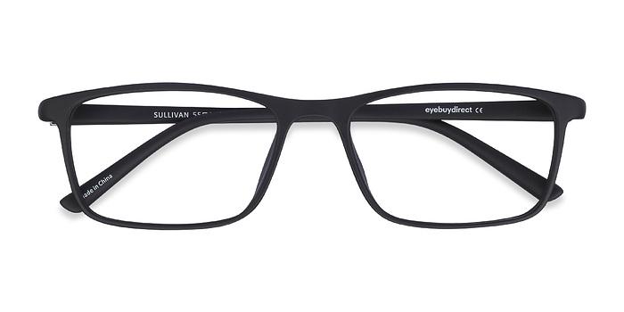 Matte Black Sullivan -  Plastic Eyeglasses