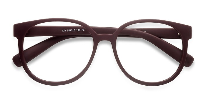 Dark Red Kilt -  Plastic Eyeglasses