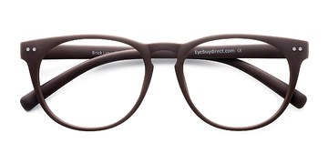 Matte Brown Brick Lane -  Fashion Plastic Eyeglasses