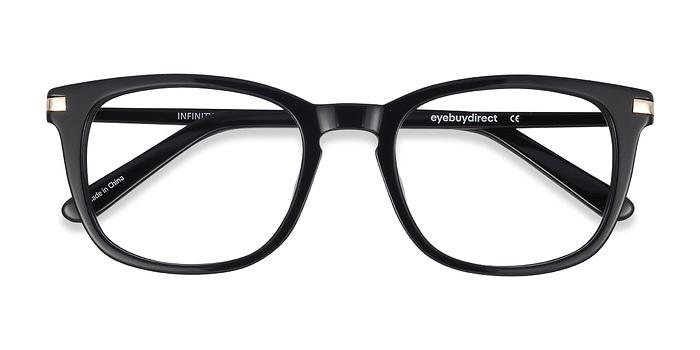 Black Infinity -  Geek Acetate Eyeglasses