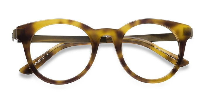 Light Tortoise Venus -  Vintage Acetate Eyeglasses