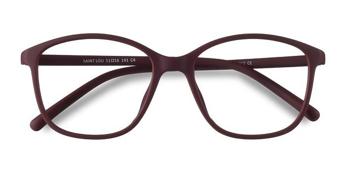 Burgundy Saint Lou -  Plastic Eyeglasses