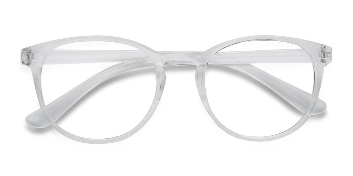 Clear Little Muse -  Plastic Eyeglasses